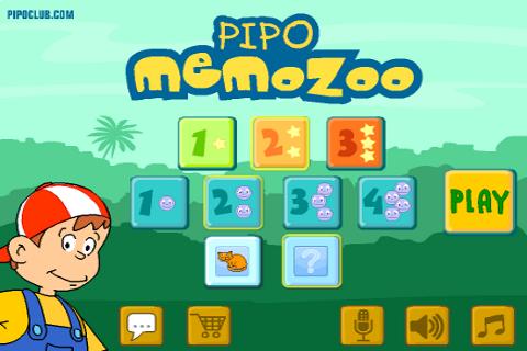 Pipoclub Com App Pipo Memo Zoo