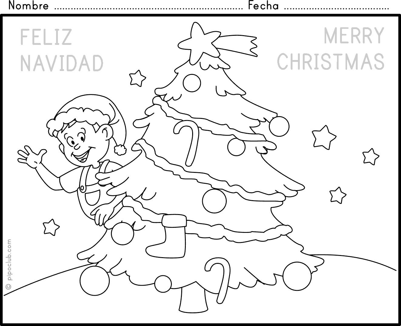 Navidad 2 for Actividades de navidad para colorear